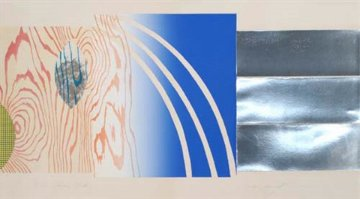 Horse Blinders (North) 1972 Limited Edition Print - James Rosenquist
