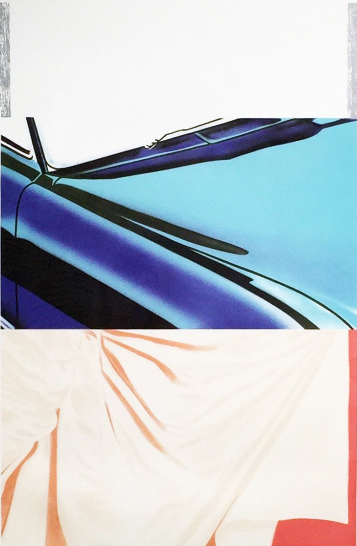1, 2, 3 Outside 1972 Super Huge Limited Edition Print by James Rosenquist