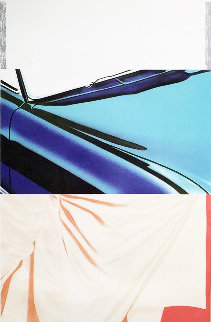 1, 2, 3 Outside 1972 Huge Limited Edition Print - James Rosenquist