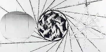1/2 Sunglass, Landing Net, Triangle 1974 Limited Edition Print by James Rosenquist