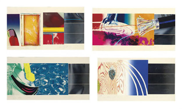 Horse Blinders Suite 1972 Limited Edition Print by James Rosenquist