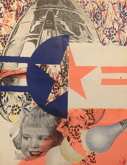 F-111  1965 Leo Castelli Limited Edition Print - James Rosenquist