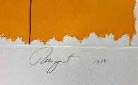 Black Star (Orange 2nd State) 1978 Limited Edition Print by James Rosenquist - 2