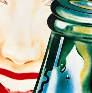 Hey Lets Go For a Ride 1972 Limited Edition Print - James Rosenquist
