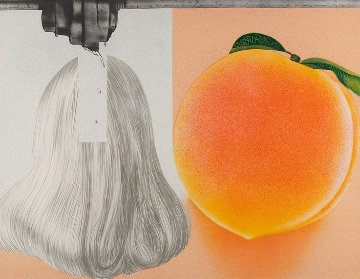 When a Leak 1982 Limited Edition Print - James Rosenquist