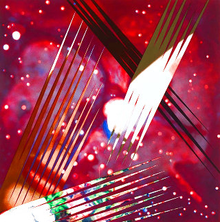 Persistence of Electrons in Space 1987 Limited Edition Print - James Rosenquist