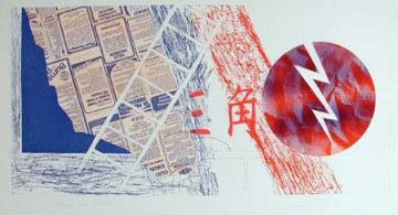 Wind and Lightning 1978 Limited Edition Print by James Rosenquist