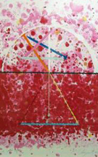Universal Star Leg with Rock 1974 Limited Edition Print - James Rosenquist