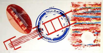 Cliff Hanger 1978 Limited Edition Print - James Rosenquist