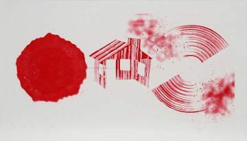 Hot Lake (2nd State) 1978 Limited Edition Print by James Rosenquist
