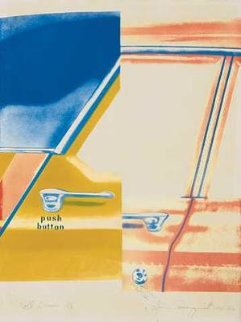 Roll Down 1965 Limited Edition Print - James Rosenquist