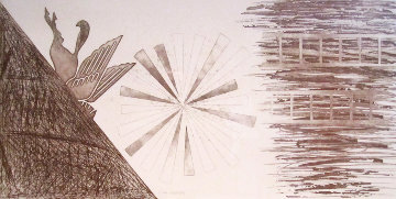 Star Ladder, State 2 1978 Limited Edition Print by James Rosenquist