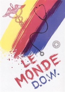 Le Monde (Doctor's of the World) 2001 HS Limited Edition Print by James Rosenquist
