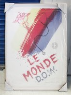 Le Monde (Doctor's of the World) 2001 HS Limited Edition Print by James Rosenquist - 1