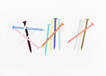 Spikes 1974 Limited Edition Print by James Rosenquist