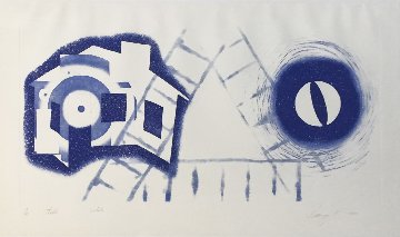 Tide (State 2) 1978 Limited Edition Print by James Rosenquist