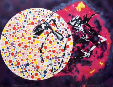 Woman in the Sun 1991 Limited Edition Print by James Rosenquist