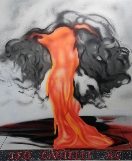 Flame Still Dances on Leo's Book 1997 Limited Edition Print by James Rosenquist