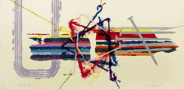 Violent Turn 1977 Limited Edition Print by James Rosenquist