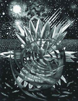 Welcome to the Water Planet 1987 77x60 Limited Edition Print - James Rosenquist