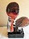 Il Bacio/ the Kiss Unique Glass Sculpture 1997 21 in Sculpture by Dino Rosin - 3