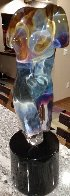 Athena Unique Glass Sculpture (Rare) 2007 22 in Sculpture by Dino Rosin - 0