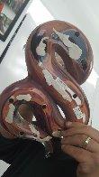 Cobra   Glass Sculpture  2000 21 in Sculpture by Dino Rosin - 4