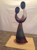 Just Friends Unique Glass Sculpture 1998 26 in Sculpture by Dino Rosin - 1