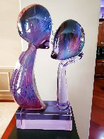 Kiss Glass Unique Sculpture 1995 25 in Sculpture by Dino Rosin - 4