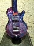 Gibson Guitar Glass Sculpture 1997 41 in  Sculpture - Dino Rosin