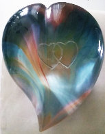 Heart Glass Sculpture 8 in Sculpture by Dino Rosin - 0