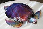 Turtle Glass Unique Sculpture 2013 20 in Sculpture - Dino Rosin