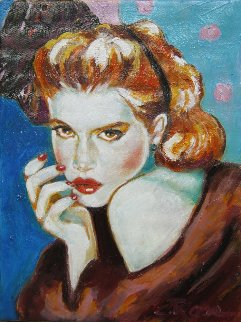 Midnight Rhapsody 2017 12x9 Original Painting - Colleen Ross