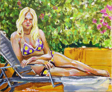 Endless Summer Love #1 2018 20x24 Original Painting - Colleen Ross