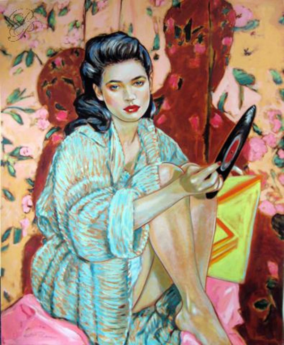 Heartbreaker 1985 Limited Edition Print by Colleen Ross
