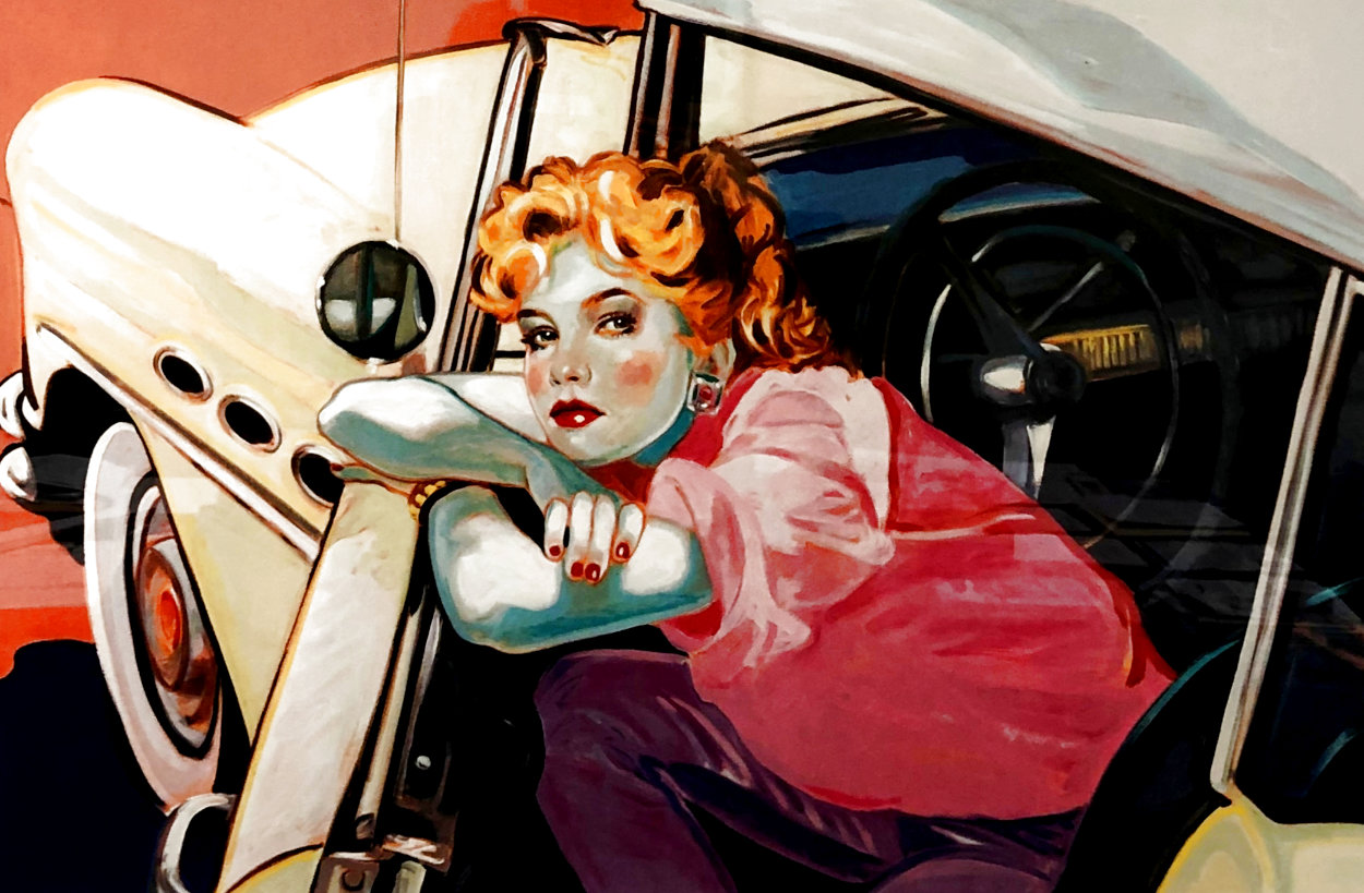 Built Like a Buick 2000 Limited Edition Print by Colleen Ross