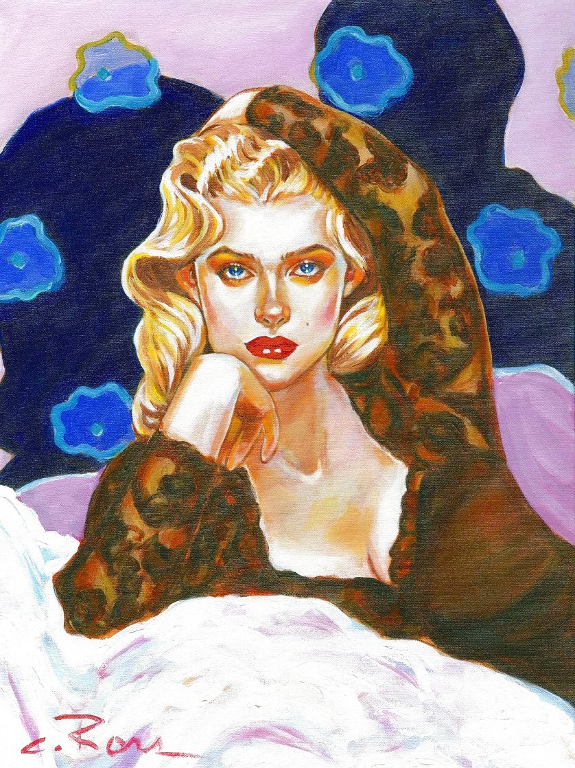 Love is Like a Heat Wave 2021 Embellished Limited Edition Print by Colleen Ross