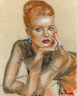 Romantic Sense of Beauty #1 2021 20x16 Original Painting - Colleen Ross