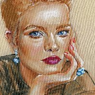 Romantic Sense of Beauty #1 2021 20x16 Original Painting by Colleen Ross - 1