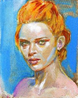Romantic Sense of Beauty #2 2021 30x24 Original Painting - Colleen Ross