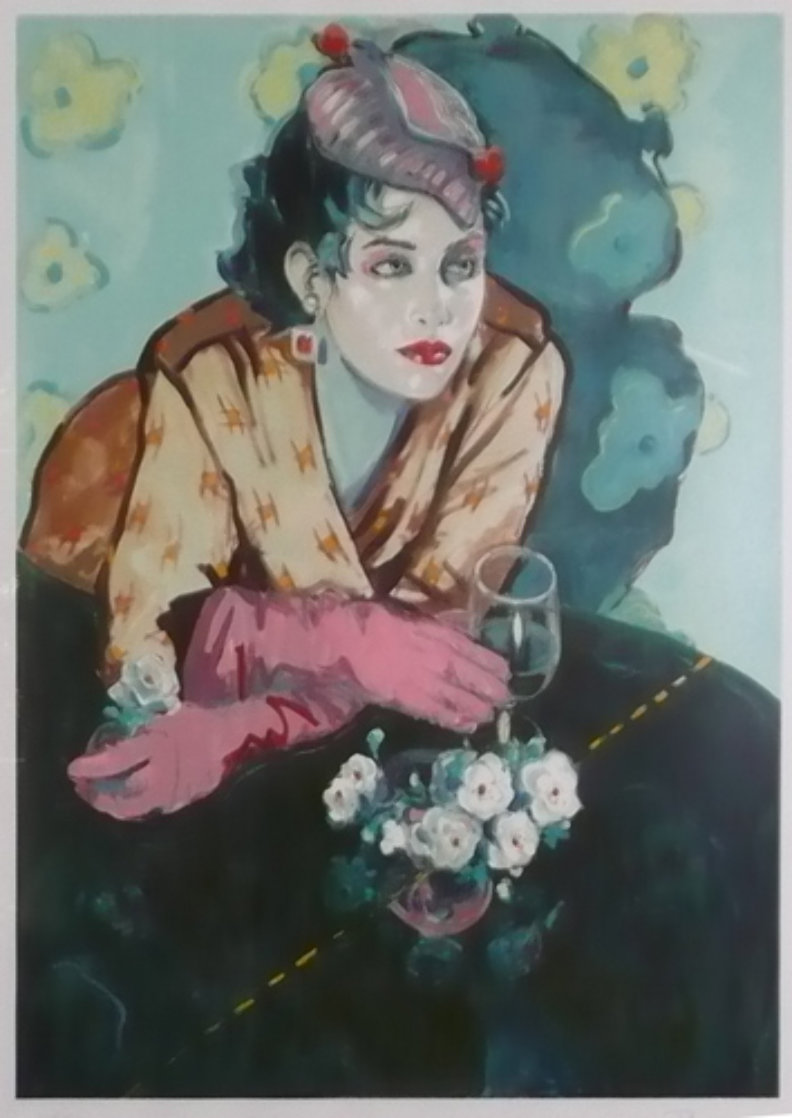 White Gardenia AP 1987 Limited Edition Print by Colleen Ross