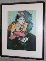 White Gardenia AP 1987 Limited Edition Print by Colleen Ross - 1