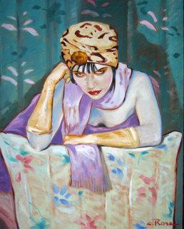 Deja Vu1986 41x31 Huge Original Painting - Colleen Ross
