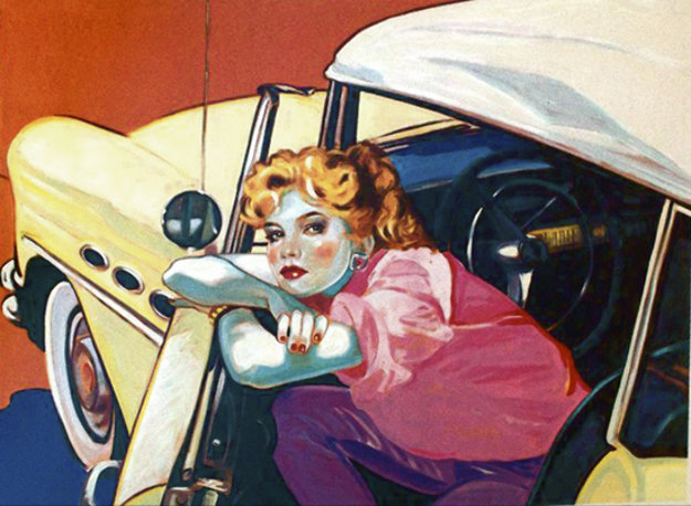 Built Like a Buick 1986 Limited Edition Print by Colleen Ross