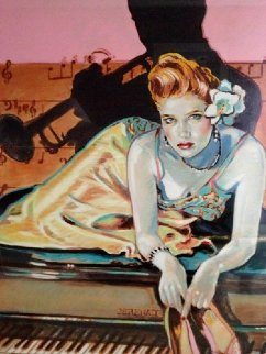 Just for You 1986 Limited Edition Print by Colleen Ross