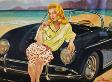 Sandy Ross  1990 Limited Edition Print by Colleen Ross