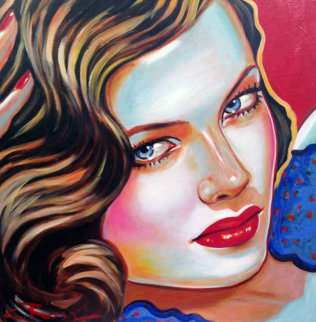 Magic 2000 30x30 Original Painting - Colleen Ross