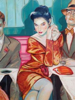 Just the Two of Us 1987 Limited Edition Print by Colleen Ross