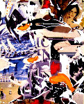 Felliniana Limited Edition Print - Mimmo Rotella