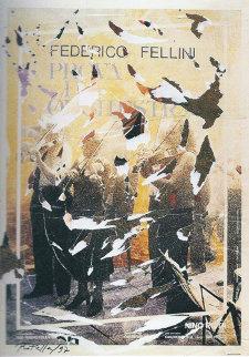 Prova D'orchestra 1997 38x27  - Mimmo Rotella